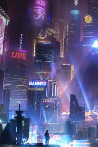 Cyberpunk City 4k