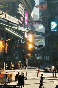 Cyberpunk City 8k