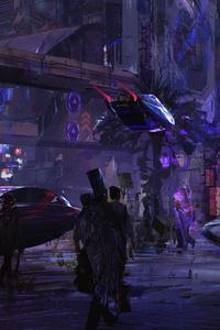 Cyberpunk Cityscape 4k