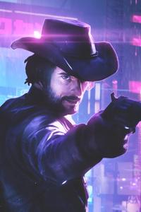 Cyberpunk Cowboy