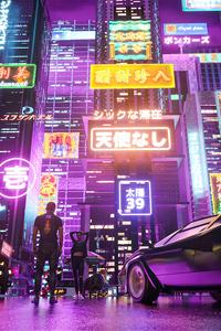 Cyberpunk Date 4k