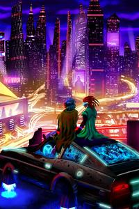 2160x3840 Cyberpunk Date