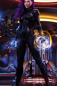 Cyberpunk Girl 2020 4k