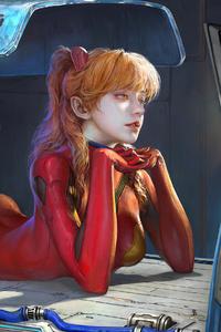 Cyberpunk Girl Getting Ready