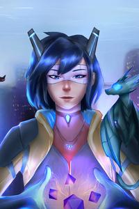 Cyberpunk Girl Segorol 4k