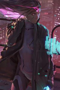 Cyberpunk Killer Girl