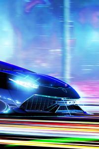 540x960 Cyberpunk Lamborghini