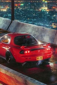 Cyberpunk Mazda