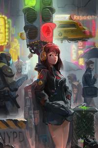 2160x3840 Cyberpunk New York 5k