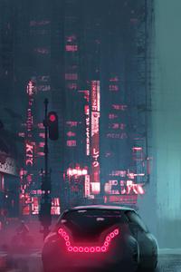 1440x2960 Cyberpunk Night