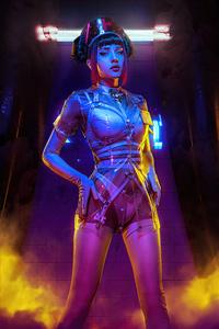 1080x2280 Cyberpunk Nurse