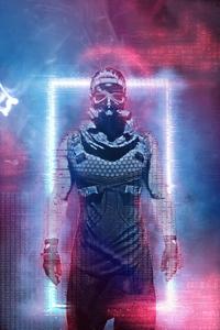 Cyberpunk Paradise Girl 5k
