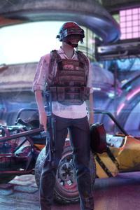 Cyberpunk Pubg 4k