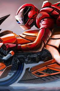 Cyberpunk Red Bike 4k