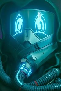 Cyberpunk Robot 4k