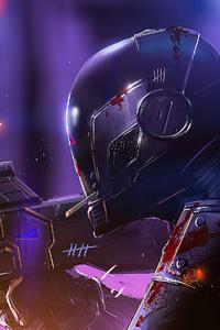 Cyberpunk Spark Soldier 4k
