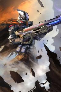 Cyborg 4k Art