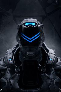 640x960 Cyborg 4k