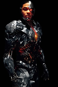 720x1280 Cyborg Justice League 8k