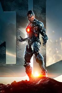 1440x2960 Cyborg Justice League