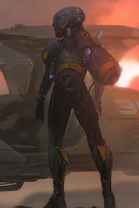 2160x3840 Cyborg Newart