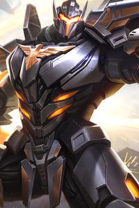 1080x2160 Cyborg Transformer 4k