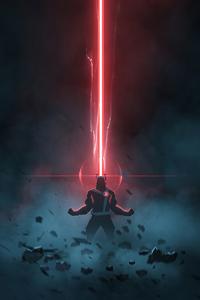320x568 Cyclops X Men 4k Artwork