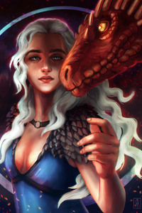 Daenerys Concept Art