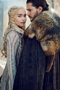 Daenerys Targaryen And Jon Snow