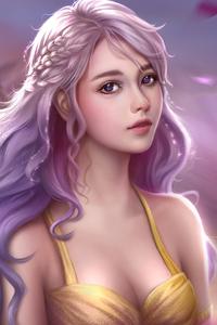 320x480 Daenerys Targaryen Fantasy Art 4k