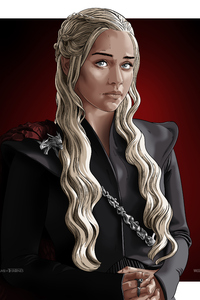 Daenerys Targaryen Game Of Thrones Digital Art