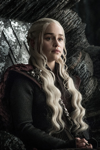 480x800 Daenerys Targaryen Game Of Thrones Season 7 4k