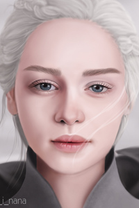 Daenerys Targaryen Illustration 4k