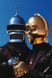 Daft Punk And C3PO