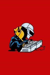 Daft Punk Minimalism