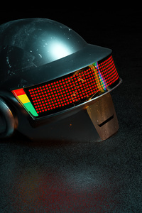 2160x3840 Daft Punk One More Time 5k