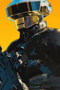 480x854 Daft Punk Robo
