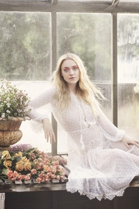 Dakota Fanning Photoshoot 4k