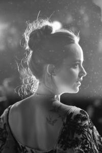 Dakota Johnson Black And White 5k