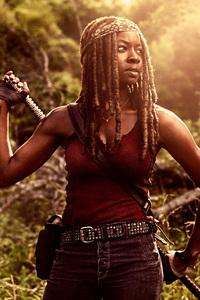 Danai Gurira As Michonne In The Walking Dead Season 9 2018