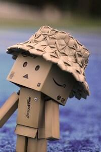 Danbo Cardboard Hat Walk