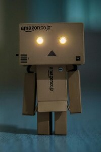 1440x2960 Danbo Glowing Eyes