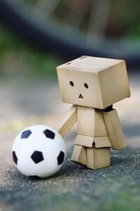1080x1920 Danbo Soccer Fan