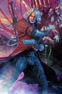 1242x2688 Dante Devil May Cry 2020