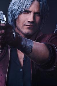 Dante Devil May Cry 5k