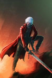 360x640 Dante The Demon Hunter 4k