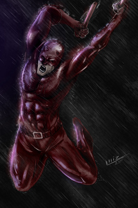 Daredevil 4k Dark Artwork