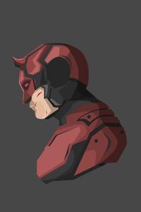640x960 Daredevil Minimalism 4k