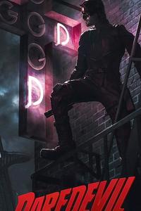 640x1136 Daredevil Season 4 Poster 2021