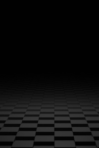 800x1280 Dark 3d Shapes Floor
